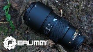 aF-S Nikkor 70-200mm f4,0 Видеообзор. Подробный обзор Nikkor AF-S 70-200mm f4.0 от FERUMM.COM