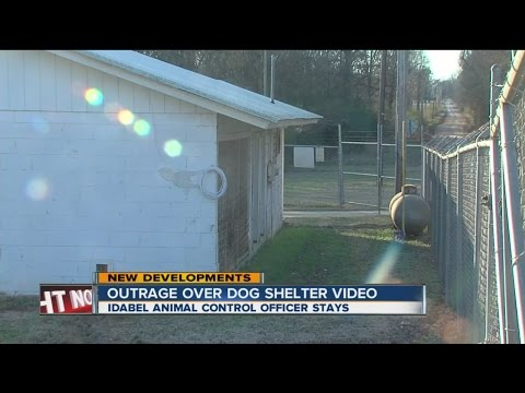 Idabel Dog Shelter Video Outrage Continues