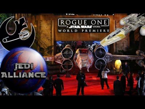 Rogue One Red Carpet, #DumpStarWars & Ship Diversity | Jedi Alliance Ep 111