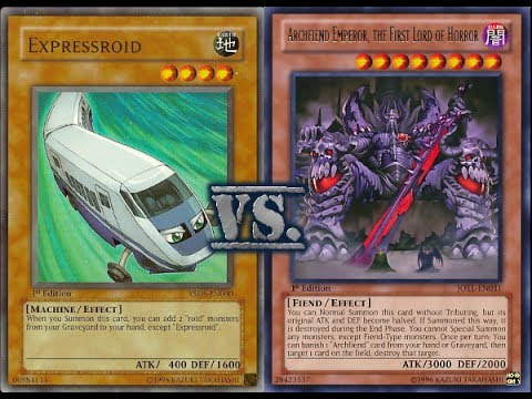 Yugioh Roid Vs Archfiend January 2014 Youtube