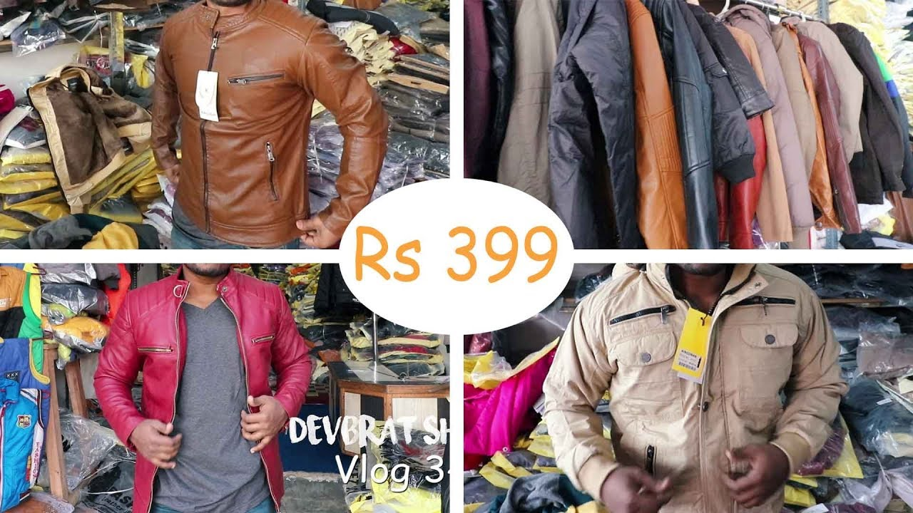 Woolen And Leather Jackets In Delhi Wholesale Market I Men S Casual