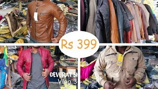 Woolen And Leather Jackets in Delhi Wholesale Market I Men