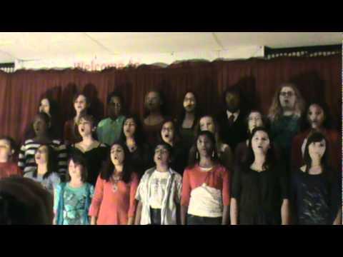 "Harmony School of Science - Austin CHOIR ""Viva La Vida"""