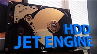 A 20+ yearold HP HDD sounds like a jet engine, once it gets going  go to 00:30 sec!