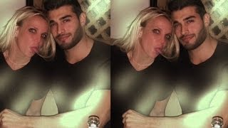 Britney Spears Get Cozy Slumber Party Costar Sam Asghari On Date Night