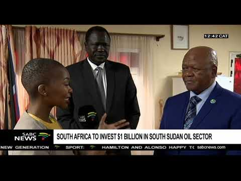 South Africa to invest $1 billion in south Sudan oil sector