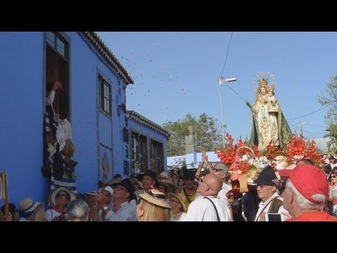 Bajada de la Virgen del Pino de El Paso, La Palma