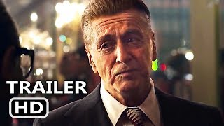 THE IRISHMAN Trailer (2019) Martin Scorsese, Al Pacino, Robert De Niro, Thriller Movie