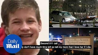 Heartbreaking 911 calls made by Kyle Plush trapped in van - Daily Mail