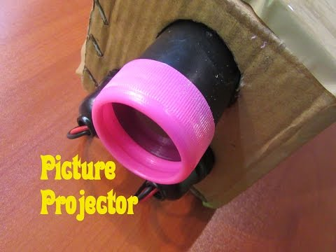 How to Make Picture Projector (Epidiascope) - Easy Tutorials