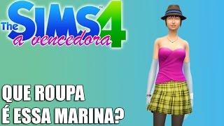 vuclip A Vencedora - The Sims 4  QUE ROUPA É ESSA MARINA? #47