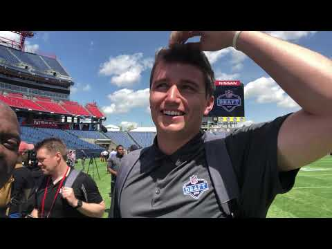 Drew Lock Talks Jon Gruden Oakland Raiders Coach At 2019 NFL Draft