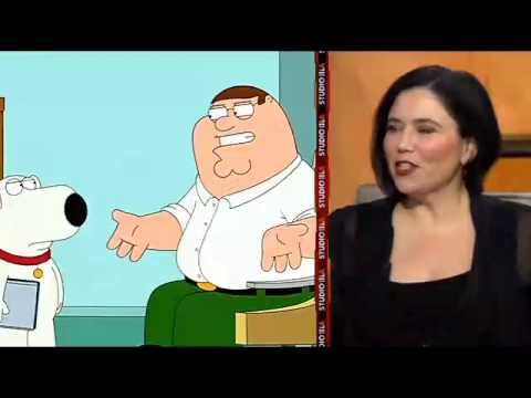 """Alex Borstein does Lois Griffin in """"Family Guy"""""""