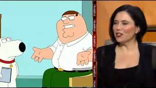 Alex Borstein does Lois Griffin in