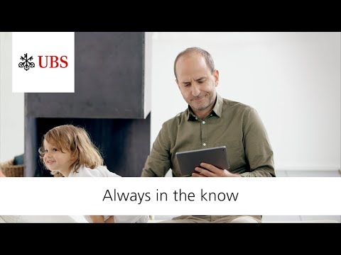 UBS Digital Banking. Always In The Know.