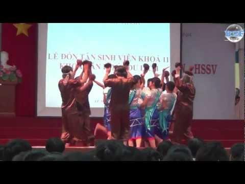 Múa: Vũ Điệu Gáo Dừa - Sinh viên khoa Văn hóa - Du lịch (ĐH Sài Gòn)