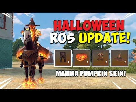 """""""HAPPY HALLOWEEN!"""" (ROS Funny Moments + Update) 
