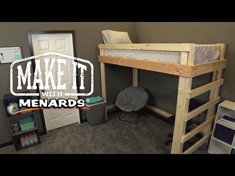 Loft Bed - Make It With Menards