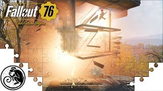 Fallout 76 CAMP Testing - Can We Blow Up My Tower? + Does Budget Increase with Level?