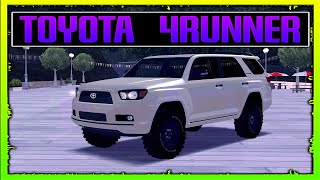 DESCARGAR TOYOTA 4RUNNER TRD 2016 MODIFICABLE PARA GTA SA