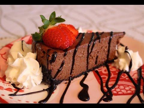 How to Make Easy Homemade Chocolate Cheesecake No Fuss Recipe