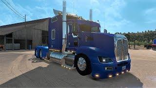 American Truck Simulator T660 Shaneke Chrome Custom Truck Palomilla!!