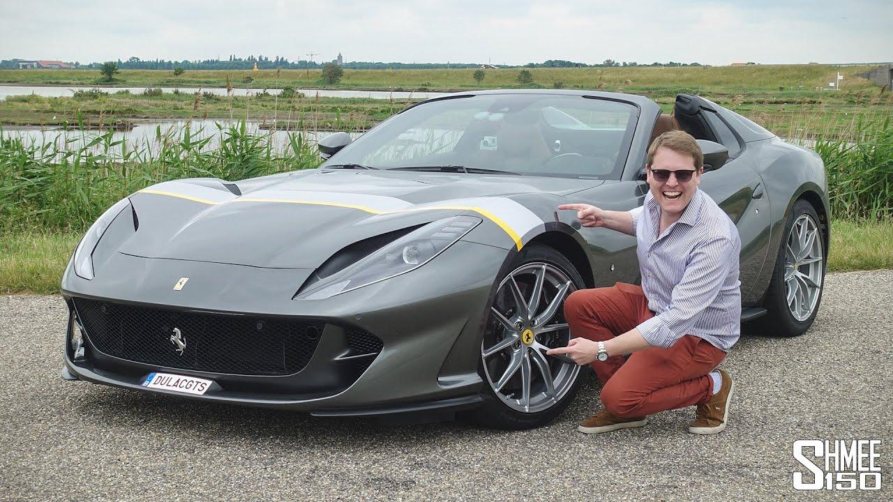 My First Drive In The New Ferrari 812 Gts Youtube