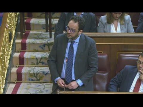 ANTONIO HERNANDO contesta a RUFIÁN y se lleva la OVACIÓN del Congreso
