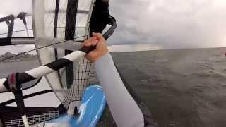 Windsurfing 2013 Jurata - ślizg i rufa - Tabou Rocket 145,  Gaastra GTX Race 8.5