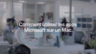 Apple at Work - Comment utiliser les apps Microsoft sur Mac