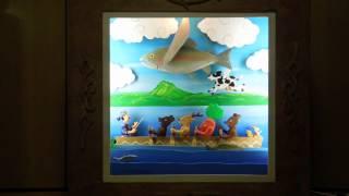 阿寒湖の鶴雅ウイングスホテルホテルのレストラン入り口に設置される塩...