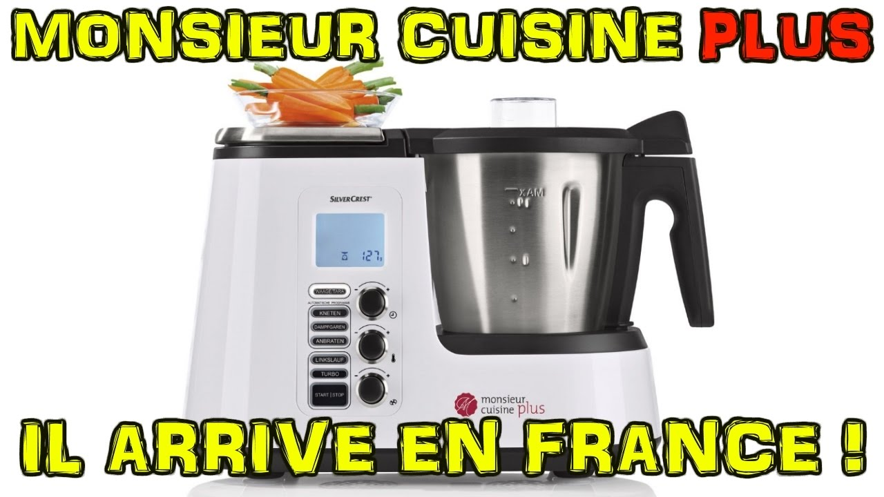 Monsieur cuisine plus lidl silvercrest arrive en france le for Cuisine lidl