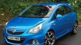 Vauxhall Corsa VXR Blue Edition 2011 Videos