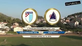GOŠK Dubrovnik 1919. - Neretvanac 2:0 (11. kolo 3. HNL-jug, 22.10.2016.)