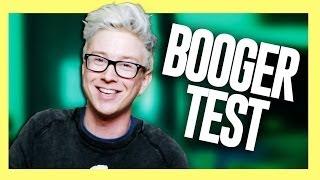 THE BEST FRIEND BOOGER TEST | Tyler Oakley