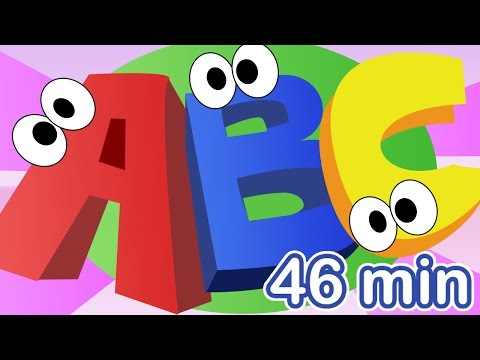 ABC SONG + More Nursery Rhymes! The Alphabet Song Compilation