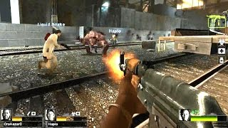Left 4 Dead 2 - City 17 Custom Campaign Multiplayer Gameplay Playthrough