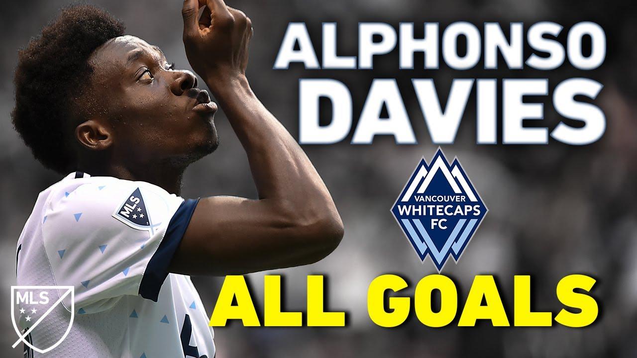 Alphonso Davies ALL GOALS: Before Bayern, Davies Lit Up Major League Soccer
