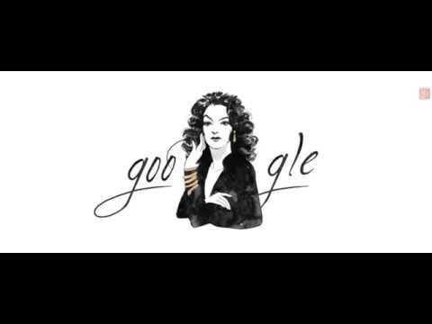 Google festeja a María Félix con doodle por su cumpleaños