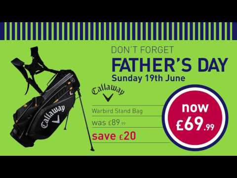 Don't forget Father's Day with American Golf