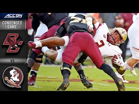 Boston College vs. Florida State Condensed Game   2018 ACC Football
