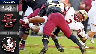 Boston College vs. Florida State Condensed Game | 2018 ACC Football