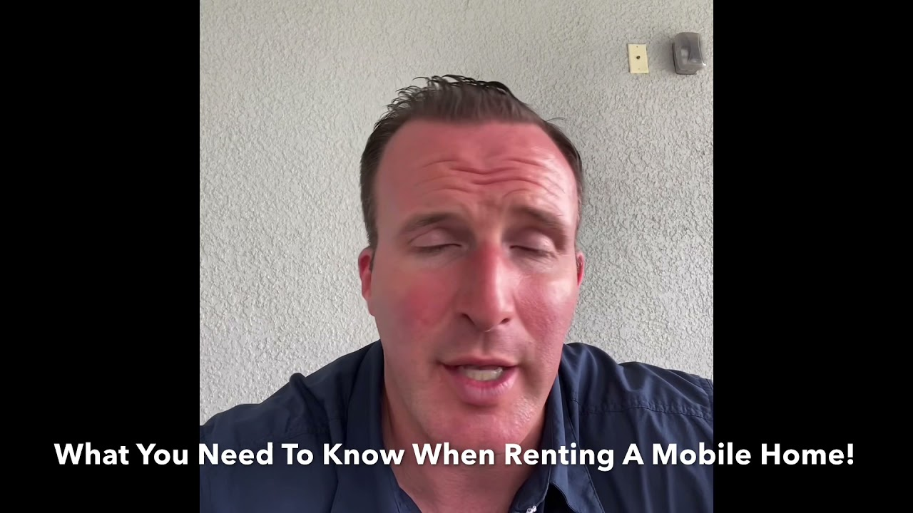 Watch This Before Renting A Florida Mobile Home!