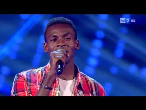 Charles Kablan - Hello | The Voice of Italy 2016 - Blind Aud