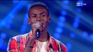 Charles Kablan - Hello | The Voice of Italy 2016 - Blind Aud...