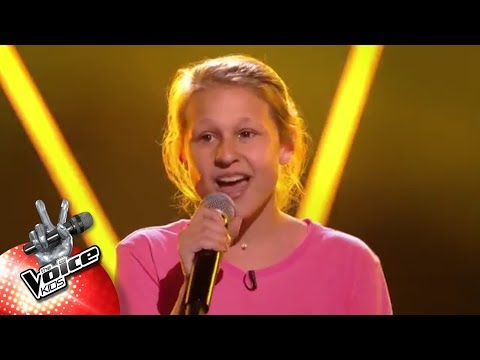 Axelle - 'Heavy'   Blind Auditions   The Voice Kids   VTM