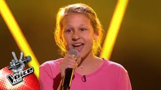 Axelle - 'Heavy' | Blind Auditions | The Voice Kids | VTM