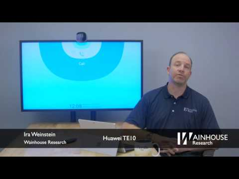 Video Of The Evaluation Of Huawei TE10 Video Endpoint
