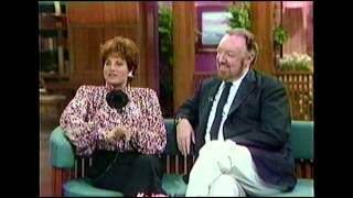 LORNA LUFT AND JACK HALEY JR. ON CBS THIS MORNING 1989