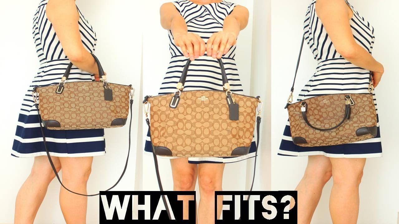 Tas 提包 Coach Tangan กระเป๋าถือ FitsMy First Bag What Review 8n0Nmwv